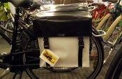 Clarijis Panniers black and white