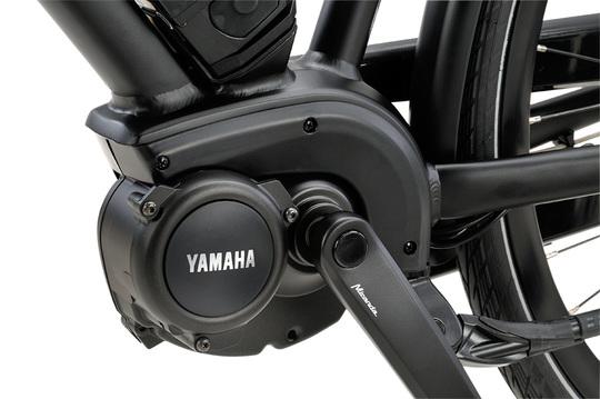 Dinsdag E-go Yamaha motor